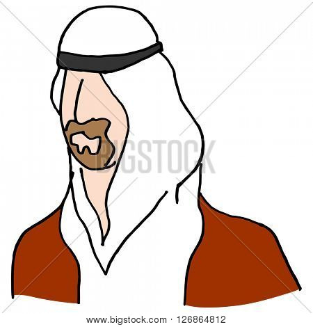 An image of a Middle Eastern man.
