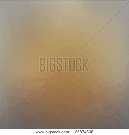polygon gradient background in beige and gray