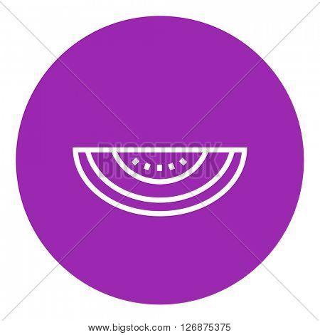 Melon line icon.