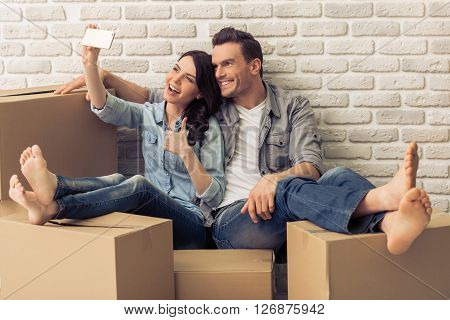Beautiful Couple Moving