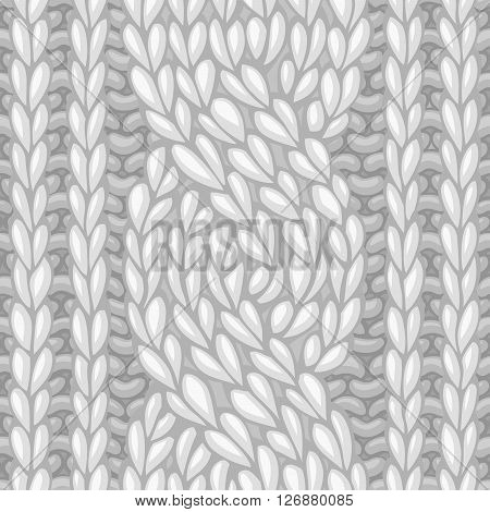Seamless Six-stitch Cable Stitch.