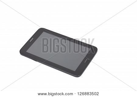 Tablet PC design are designed by the contributor him self. Include clipping path for tablet and screen. Isolated on white.