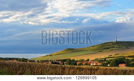 View Of Cap Blanc Nez On A Sunny Summer Day
