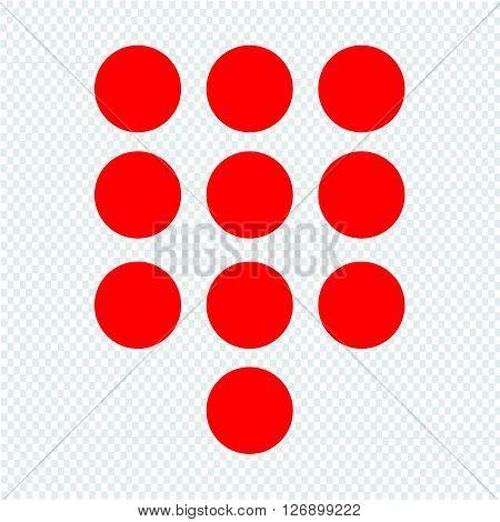 an images of keypad icon illustration design
