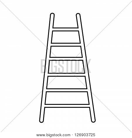 an images of ladder icon Illustration design