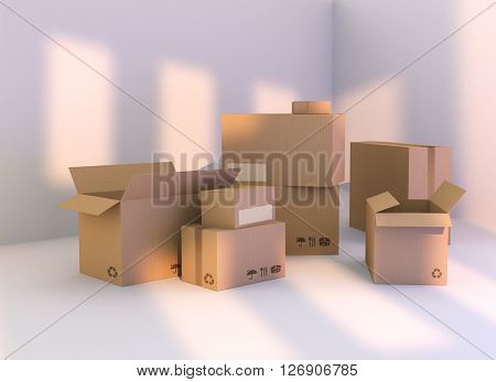 Delivery Package Box