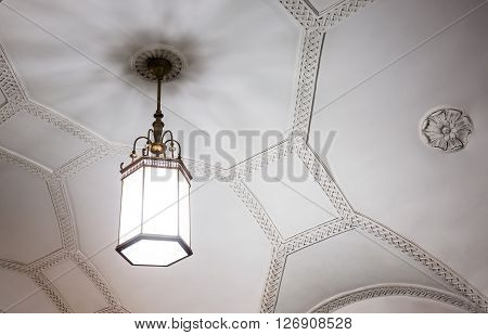 Chandelier In Moscow Metro