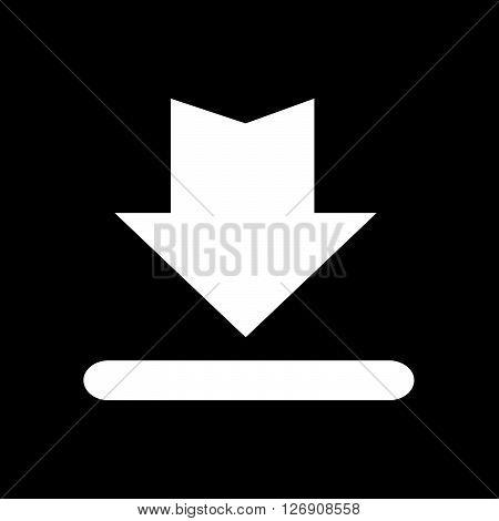 Download Button Icon Upload Button Icon Illustration design