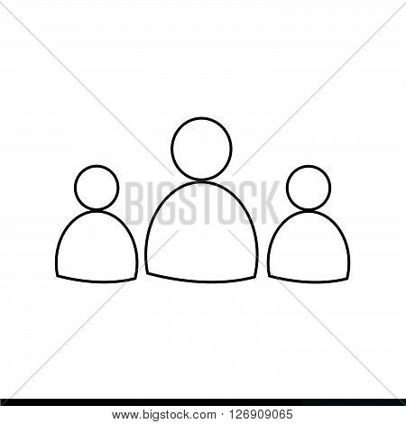 an images of User Profile Icon Illustration design