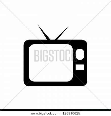 an images of Television Screen Icon Illustration design