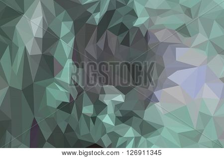Background with Abstract Low Poly Geometrical Polygonal Colorful Pattern. Vector