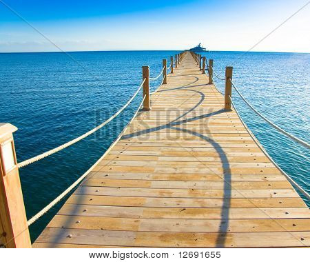Long way jetty