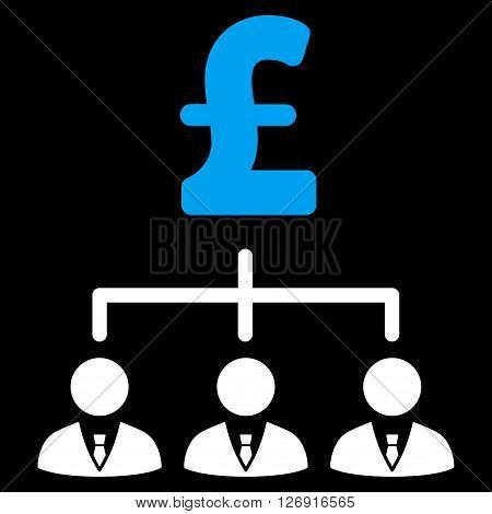 Pound Banker Links vector icon. Pound Banker Links icon symbol. Pound Banker Links icon image. Pound Banker Links icon picture. Pound Banker Links pictogram. Flat pound banker links icon.