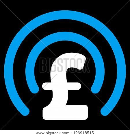 Pound Money Sphere vector icon. Pound Money Sphere icon symbol. Pound Money Sphere icon image. Pound Money Sphere icon picture. Pound Money Sphere pictogram. Flat pound money sphere icon.