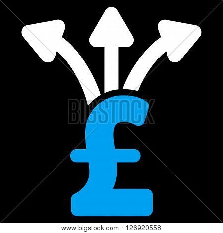 Share Pound vector icon. Share Pound icon symbol. Share Pound icon image. Share Pound icon picture. Share Pound pictogram. Flat share pound icon. Isolated share pound icon graphic.