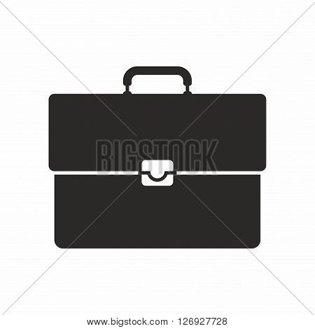 A briefcase is a narrow hard-sided box-shaped bag or case used mainly for carrying papers and other documents and equipped with a handle.