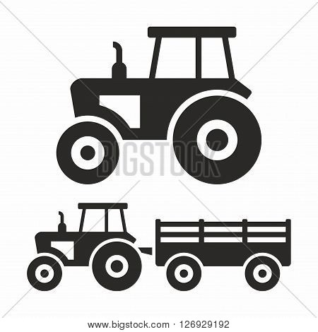 A tractor is an engineering vehicle specifically designed to deliver a high tractive effort at slow speeds, for the purposes of hauling a trailer or machinery used in agriculture or construction.