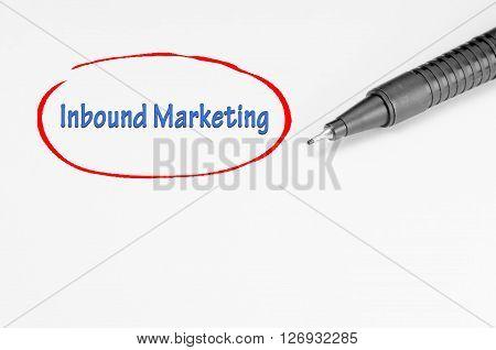 Inbound Marketing - Business Concept
