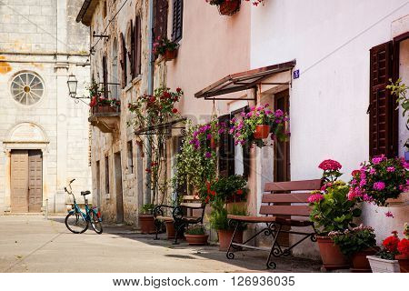 Svetvincenat is a village and municipality in the south of the central part of Istria Croatia.