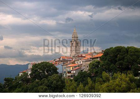 Vrsar/Orsera is a village in Istria Croatia. June 2015