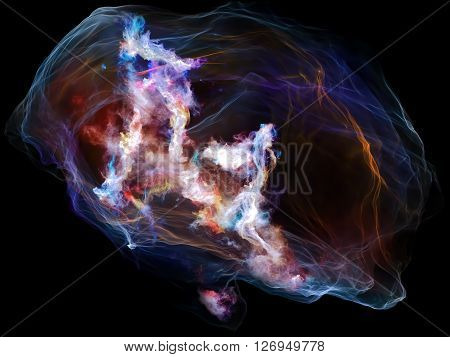 Mind Particle Background
