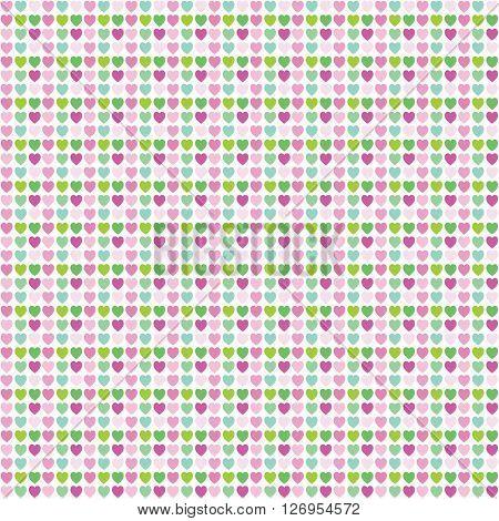 Heart seamless pattern - Design element