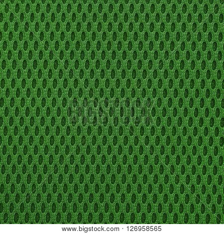 Lime green multilayer fiber fabric texture. Close up top view.