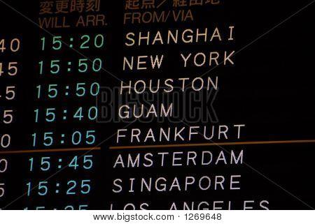 Flight Arrival Information