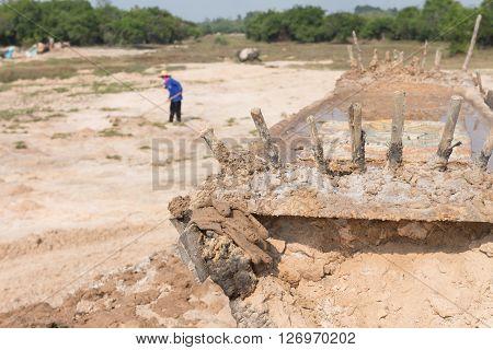 Method To Made Rock Salt In Norteast Thailand