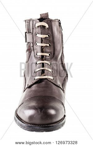 Fashion Brown Boot Front