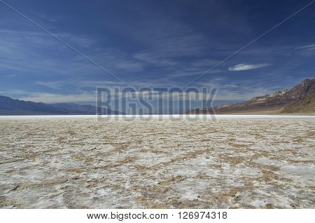 Bad Water Basine in Death Valley (California/Nevada)