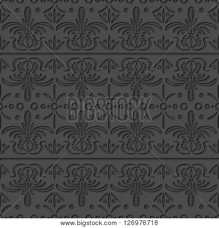 Seamless Ornamental Texture. Ornamental background for  wrapping. Ornament with inner shadow.