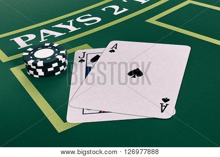Gambling, Blackjack Game