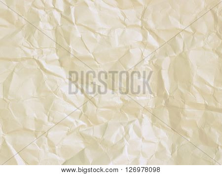 Crumpled Paper, White Paper
