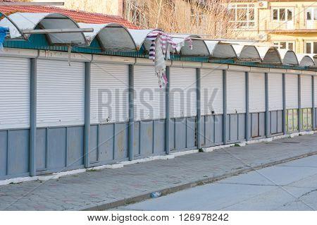 Closed For The Winter Pavilions Seaside Souvenir Shops