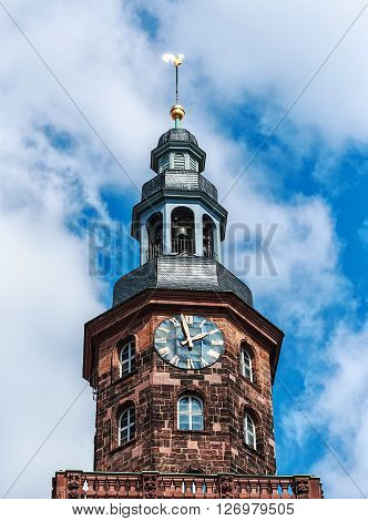 Holy Trinity Church in Luther city Worms (built 1709-1725), Germany