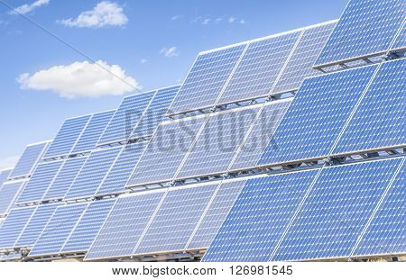 Solar panels to produce energy in an environmentally friendly manner