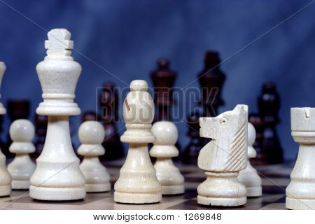 Kingside Chess Pieces