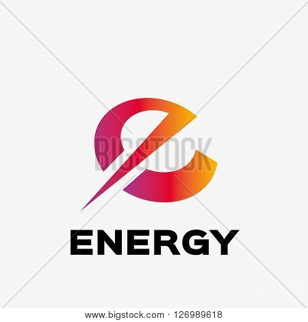 Abstract letter E logo. Abstract business logo design template. Logo template editable for your business.