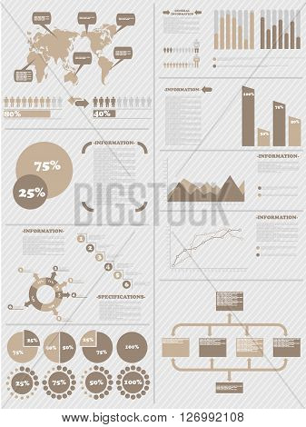 INFOGRAPHIC DEMOGRAPHICS 5 BROWN for web and other