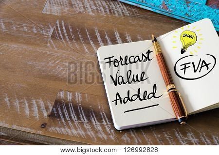 Business Acronym Fva Forecast Value Added