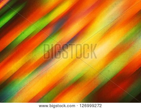 Bright Abstract Red And Orange Background