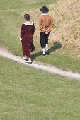 Medieval Couple poster