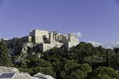 pic of ares  - Acropolis in AthensGreece as seen from Aeropagus  - JPG