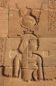 picture of isis  - Portrait of the Ancient Egyptian Goddess Isis - JPG