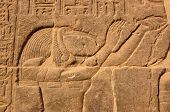 picture of isis  - Carving of the Ibis - JPG