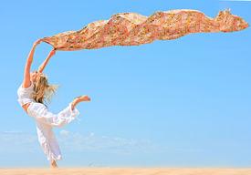 stock photo of beach holiday  - wind - JPG