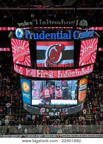 NHL scoreboard