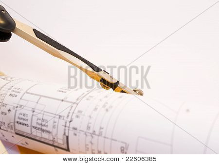 Drawing compasses