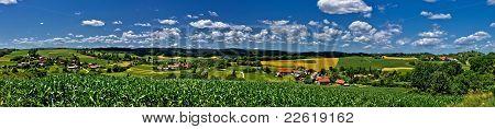 Zaistovec Valley Panorama